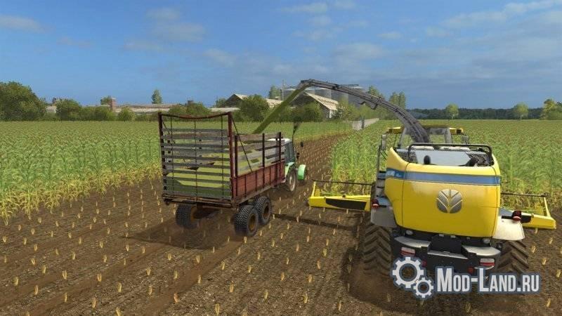 Прицеп ПРТ-10 v1 0 для Farming Simulator 2017