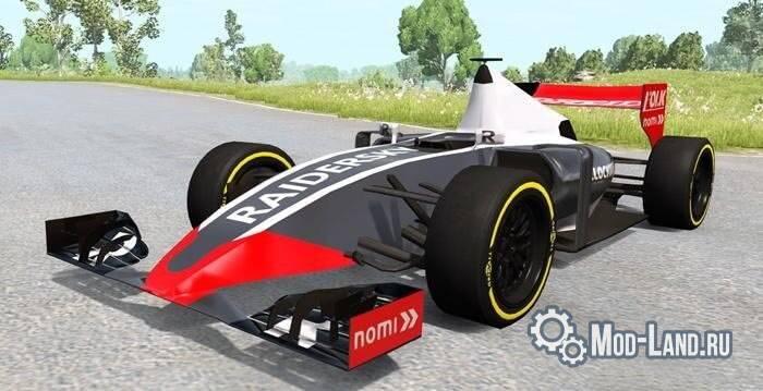 Болид Formula 1 для BeamNG Drive