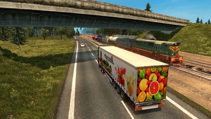 Скачать мод русской карты для euro truck simulator 2