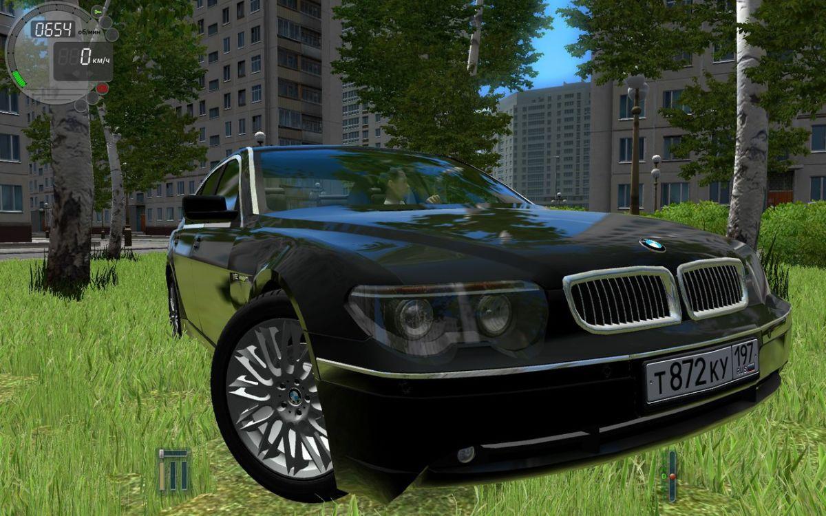 bmw 750i для city car driving