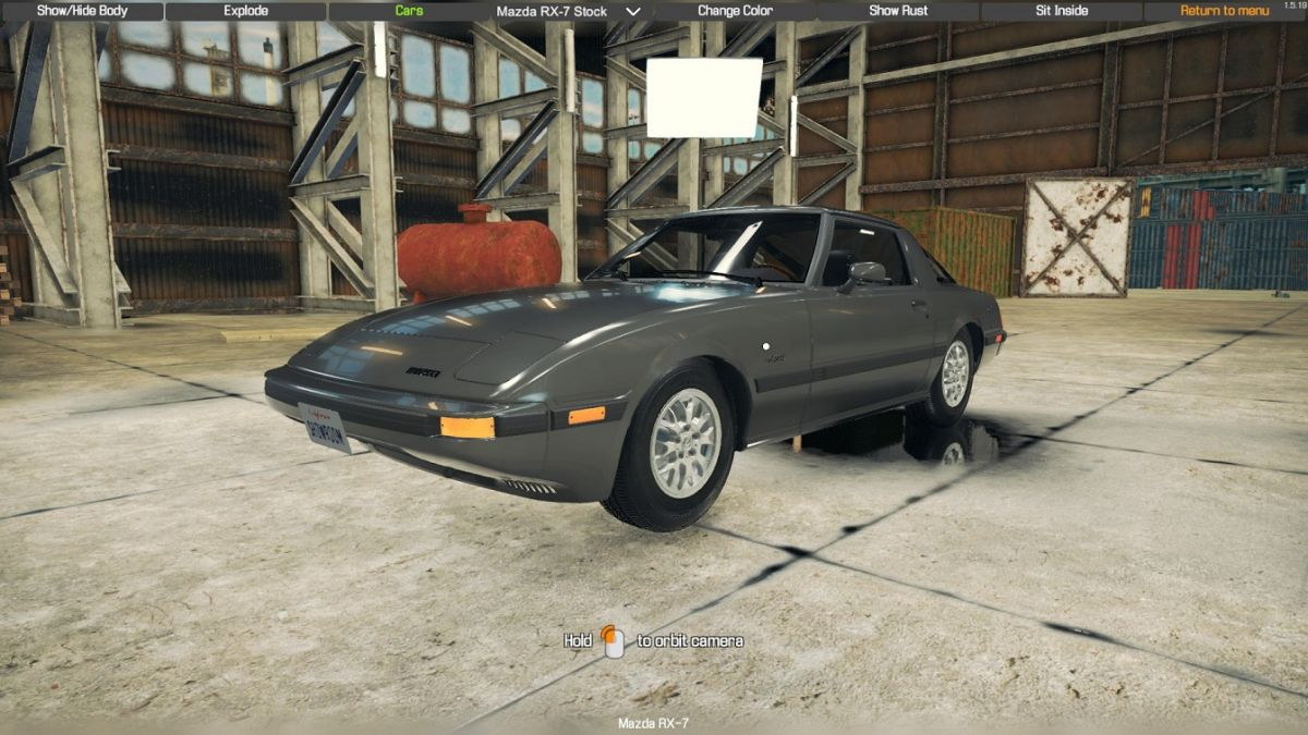 Автомобиль MAZDA RX7 SERIES 2 для Car Mechanic Simulator 2018