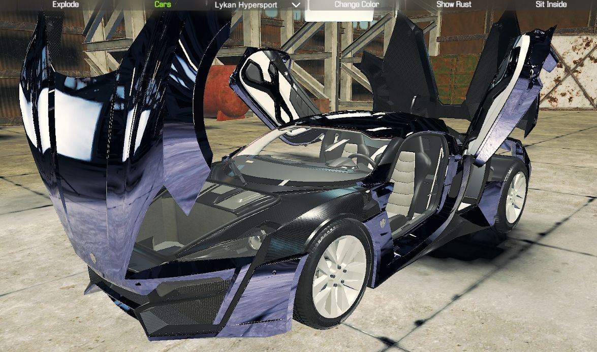 Lykan HyperSport версия 1 0 для Car Mechanic Simulator 2018