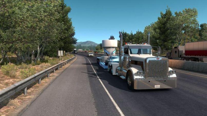 BWS nuclear waste Special Transport версия 1 0 для American